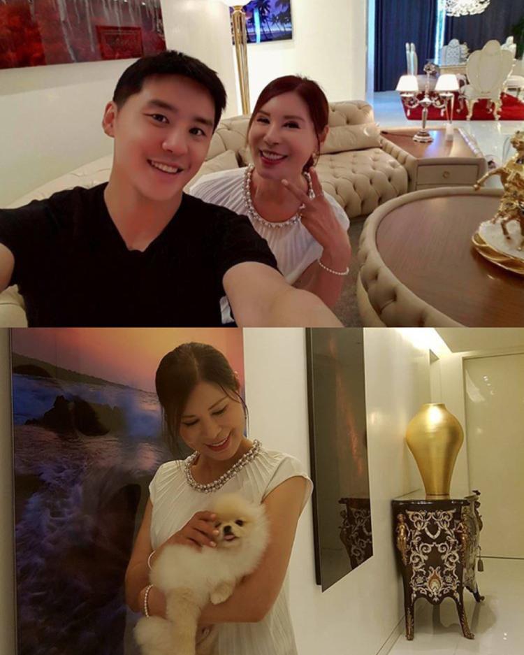 """Người mẹ """"sang chảnh"""" của Kim Junsu (JYJ)."""