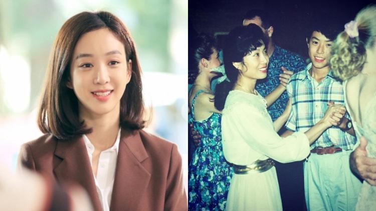 """""""Mẫu thân"""" của Jung Ryeo Won đúng chuẩn mỹ nhân. Ngay cả anh trai của cô cũng khiến nhiều chị em phụ nữ """"gục ngã""""."""