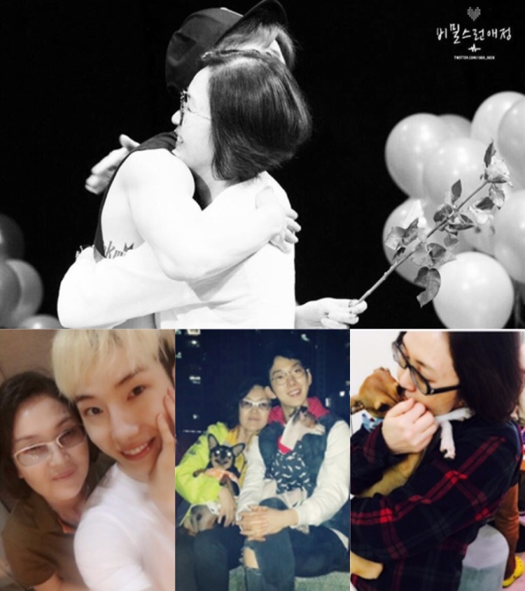 """Mẹ Jo Kwon (2AM) như người """"bạn"""" thân nhất trong cuộc đời anh, dù gặp khó khăn thử thách, bà ấy vẫn luôn ủng hộ con trai mình."""