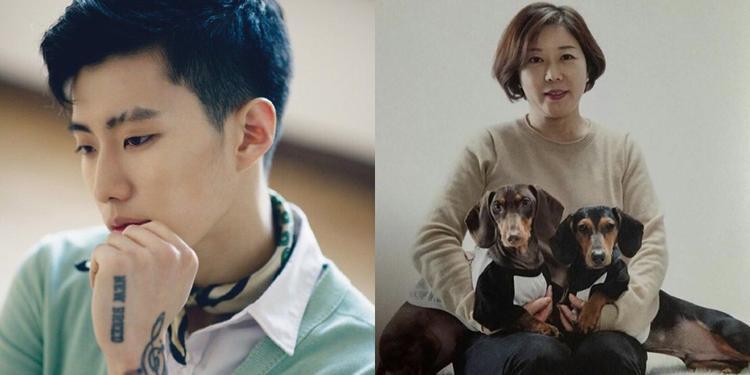 Chàng rapper người Mỹ gốc Hàn - Jay Park khiến người hâm mộ bất ngờ khi nói rằng người phụ nữ xinh đẹp này chính là mẹ của anh.