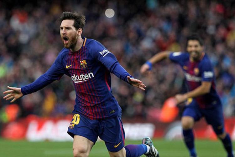 Messi lần đầu tiên vắng mặt tại La Liga.