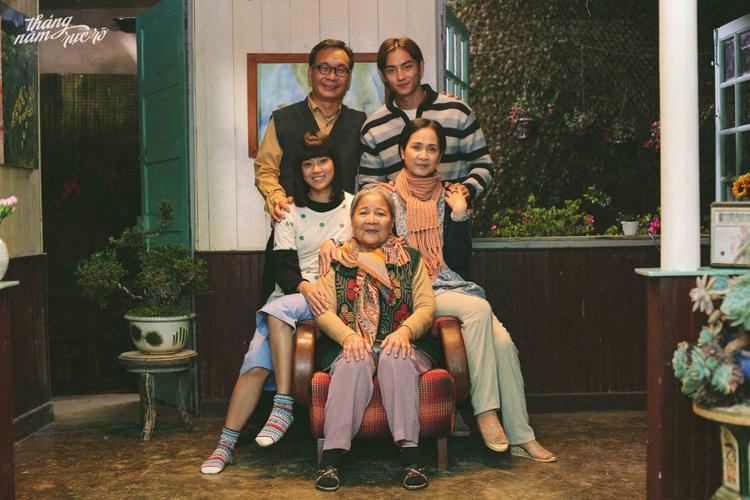 Hiểu Phương và gia đình.