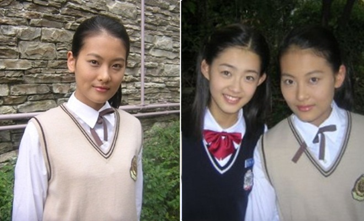 """""""Tam tạng"""" cùng nữ diễn viên Go Ara."""