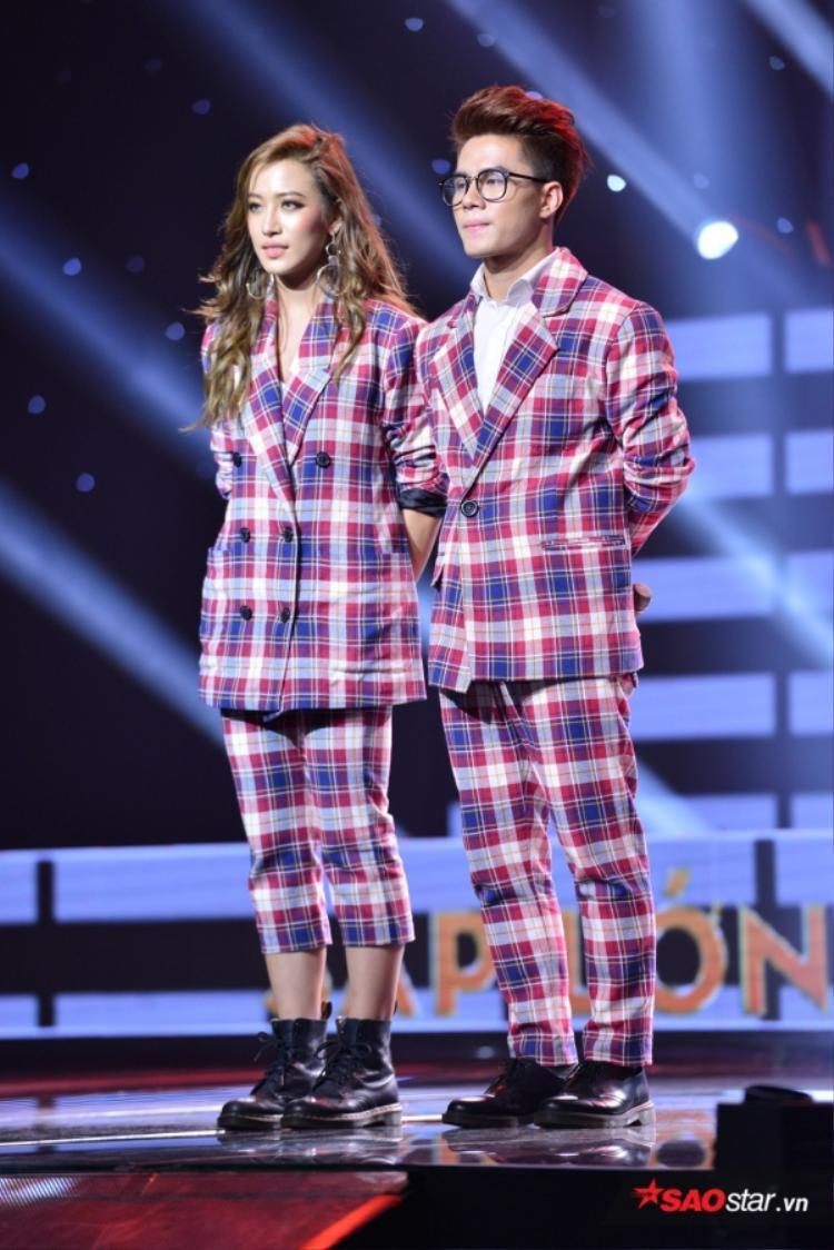 Phan Ngân có màn kết hợp đáng yêu cùng người bạn Hải Sâm ở tập 2 Sing My Song.
