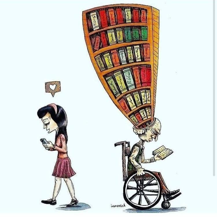 Ngồi xe lăn đọc sách lại có kiến thức khổng lồ, tuổi trẻ có công nghệ lại có tình yêu bé xíu.