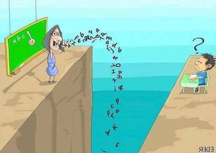 Khi chưa có được bước cơ bản thì thầy cô lại bắt học trò học những thứ nâng cao, xa xỉ. Bên cạnh đó, giữa thầy trò còn có khoảng cách thì những lời thầy cô truyền đạt cũng đổ xuống sông xuống biển.