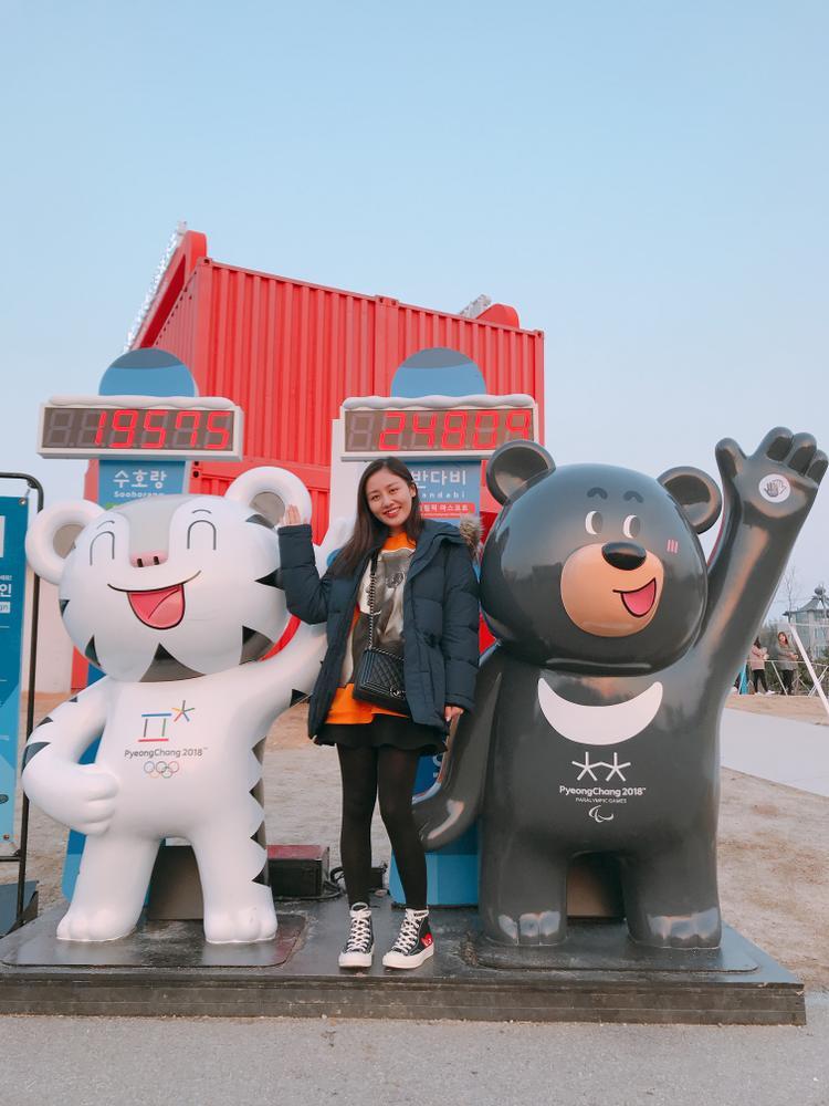 …tham quan khu trưng bày Thế vận hội Olympic mùa đông Pyeonghchang,…