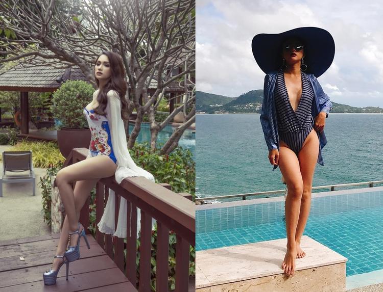 Hương Giang khoe dáng vô cùng nóng bỏng trong bộ bikini gợi cảm.