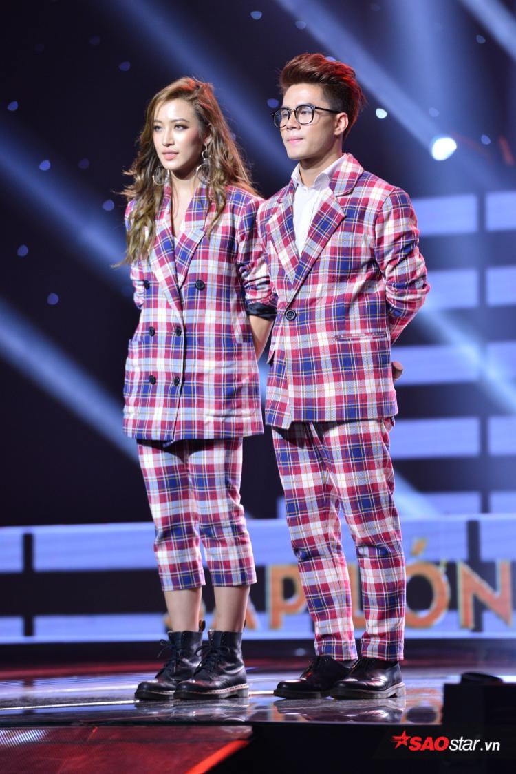 Bộ đôi Phan Ngân - Hải Sâm lần đầu kết hợp trên sân khấu.