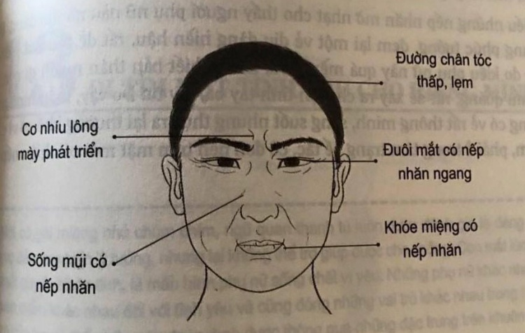 Nhân tướng học: Những đặc điểm xấu trên gương mặt đàn ông có tính trăng hoa, nhiều chuyện