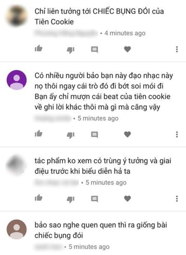 Thí sinh Sing My Song vướng nghi vấn đạo nhạc Chiếc bụng đói của Tiên Cookie