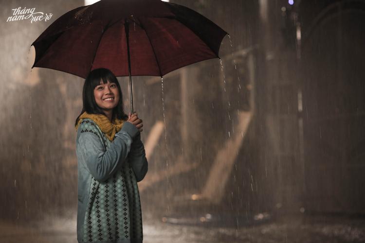 Phần solo của Hiểu Phương lấy cảm hứng từ Singin' in the Rain.