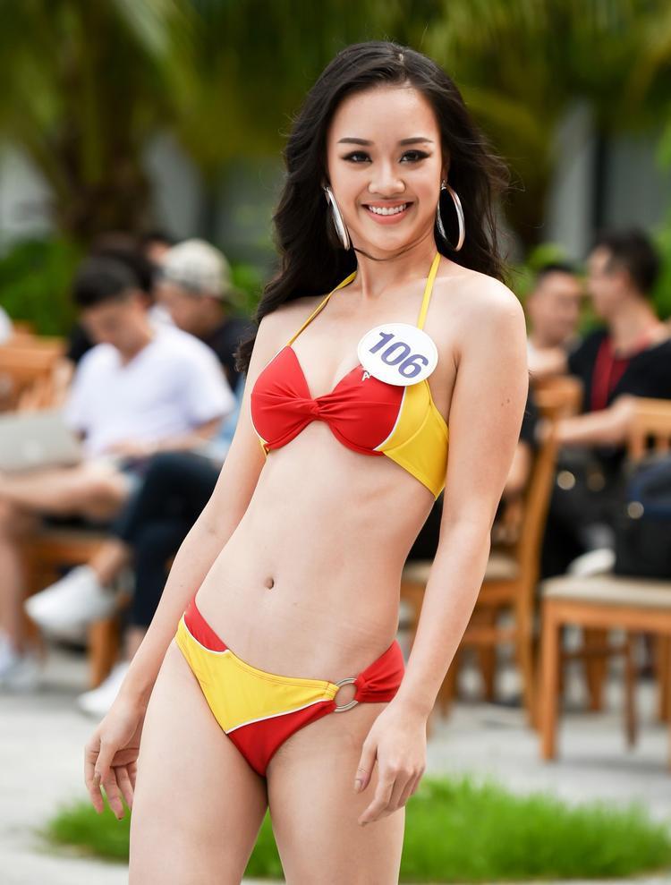 Hoàng hải Thu sinh năm 1995, hiện đang là sinh viên của trường Đại học Phòng cháy chữa cháy. Cô là một trong những gương mặt gây ấn tượng và được chú ý hàng đầu khi tham gia cuộc thi Hoa hậu Hoàn vũ Việt Nam 2017 vừa qua.