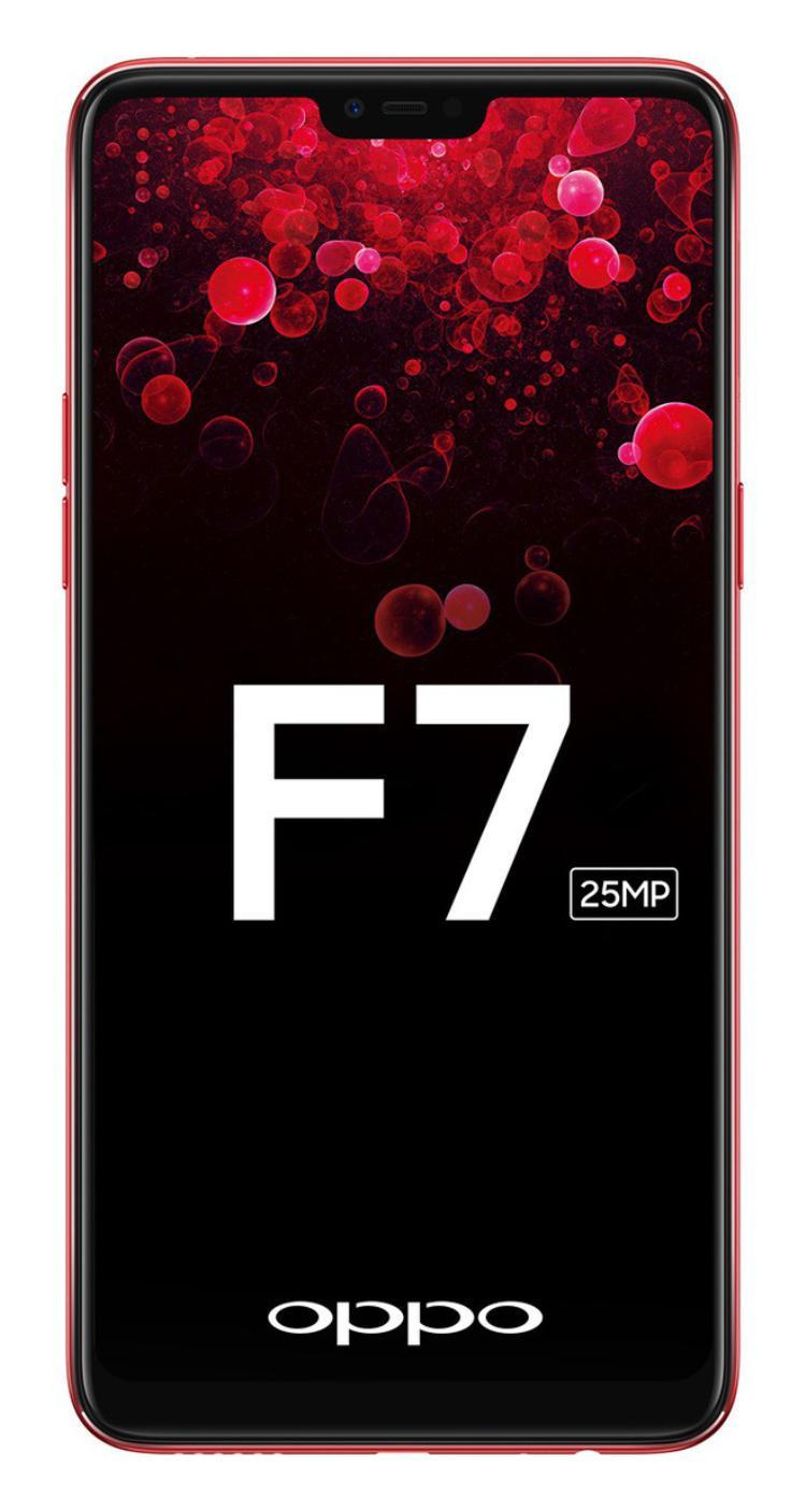 OPPO F7 lộ diện thiết kế ấn tượng với tai thỏ như iPhone X, camera selfie khủng 25 MP