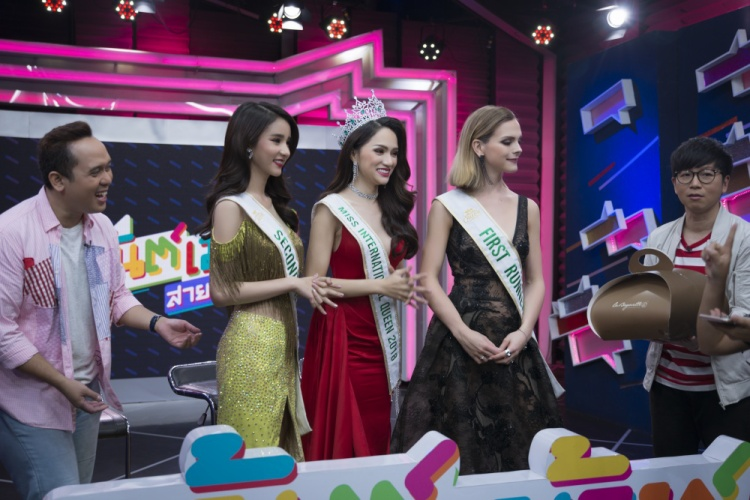 Clip: Thì ra đây là người xúi giục Hương Giang Idol đi thi Hoa hậu Chuyển giới Quốc tế