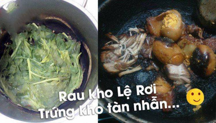 Khi đang nấu cơm mà bạn lại nghĩ bản thân nay quá thảnh thơi không có việc gì làm nên lên facebook chém gió.