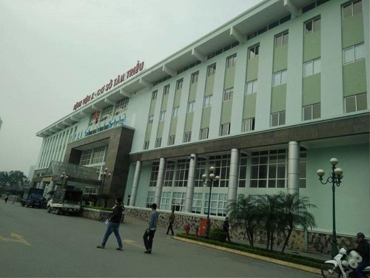 Bệnh viện K, cơ sở Tân Triều nơi xảy ra sự việc.