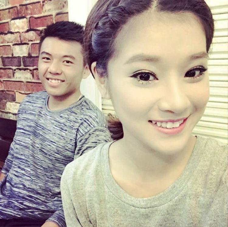 Hoàng Yến Chibi và Hoàng Nam trước đây thường xuyên đăng ảnh đi chơi chung.