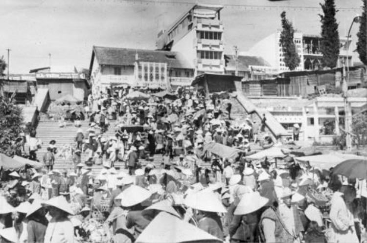 Hình ảnh Thành phố Đà Lạt được giải phóng vào ngày 3 tháng 4 năm 1975.