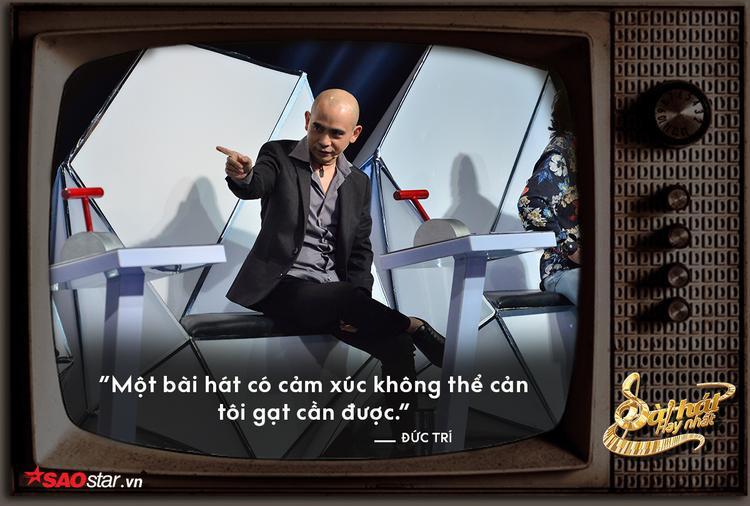 """Chính là HLV đưa ra phát ngôn """"gạt cần có trách nhiệm"""" nhưng Đức Trí vẫn phải nhường thí sinh cho Lê Minh Sơn vì đơn giản, anh không phải là """"ông kẹ""""."""