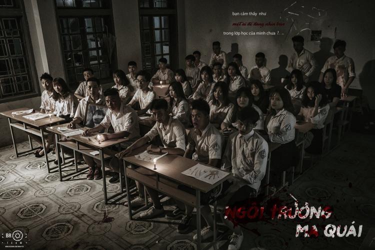 Bộ ảnh là sản phẩm của lớp 12a10 trường THPT Tô Hiệu (Sơn La).