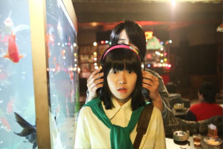 """Im Na-mi trong """"Sunny""""."""