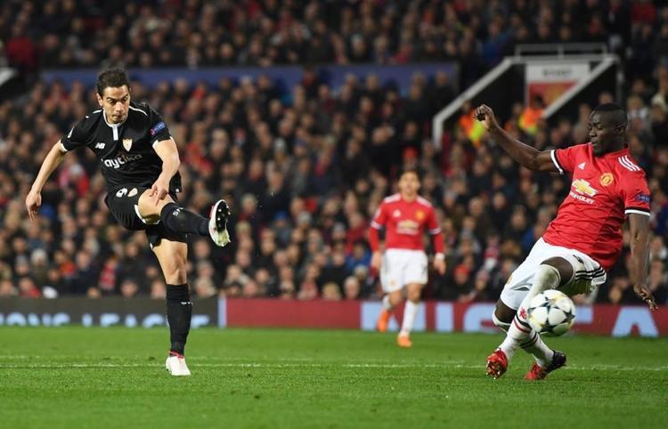 Ben Yedder lập cú đúp giúp Sevilla đánh bại Man United ở vòng 16 đội Champions League