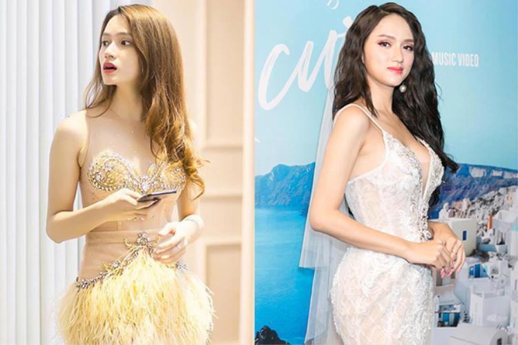 Vóc dáng của Hương Giang trước khi thi hoa hậu.