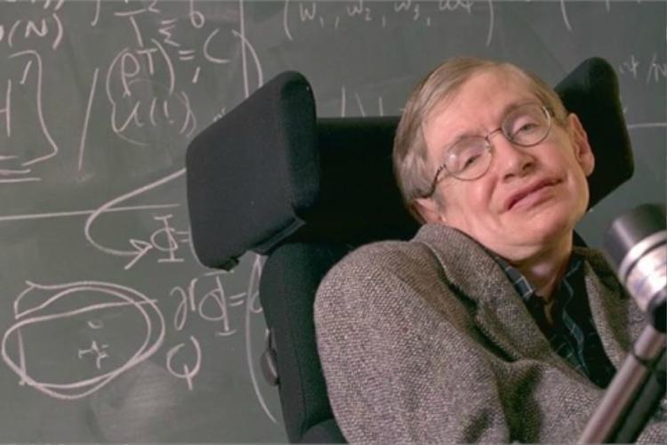 Không đầu hàng số phận, nhà khoc họcStephen Hawking đã làm nên điều kỳ diệu. Ảnh: Telegraph