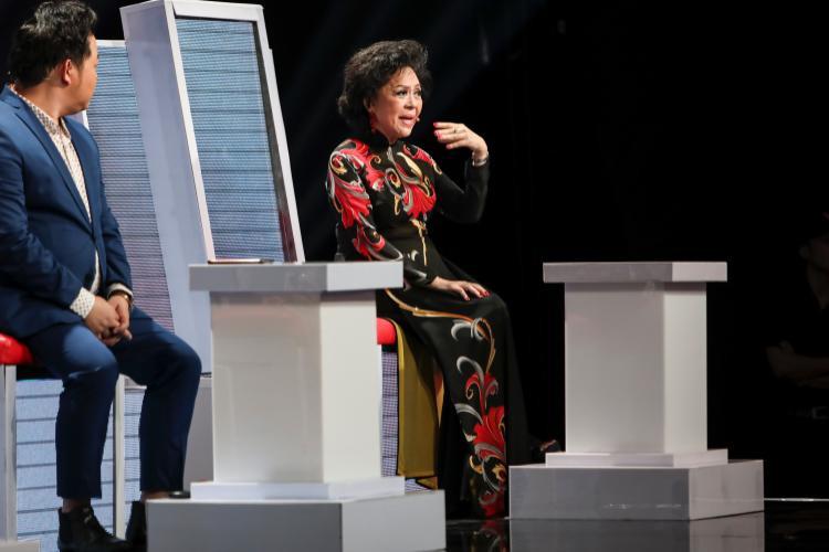 Danh ca Giao Linh cũng có những chia sẻ thú vị trên sóng truyền hình.