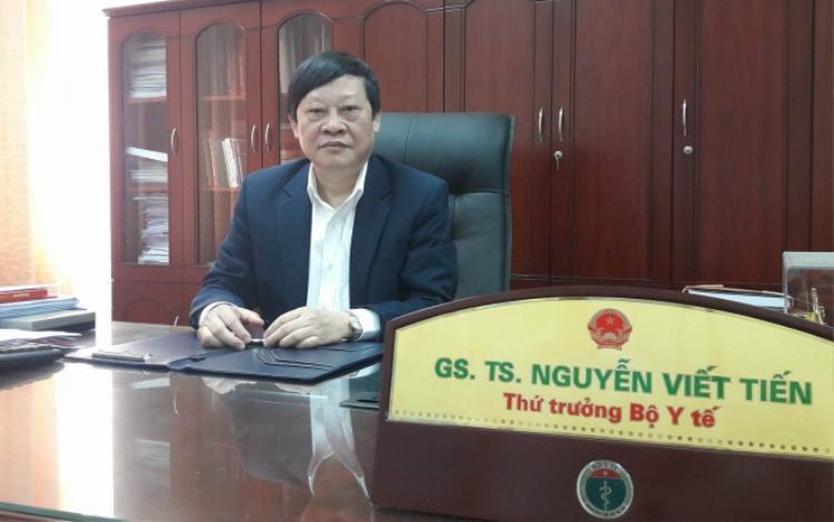 GS.TS Nguyễn Viết Tiến, Thứ trưởng Bộ Y tế cảnh báo, phụ nữ tuyệt đối không được sinh con tại nhà.