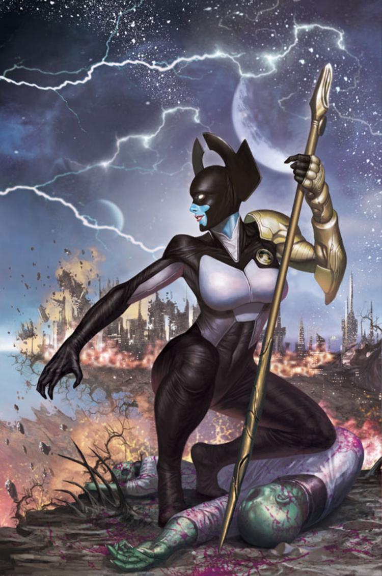 Proxima Midnight sẽ dẫn đầu đàn con của Thanos trong cuộc săn lùng những Viên đá Vô cực.