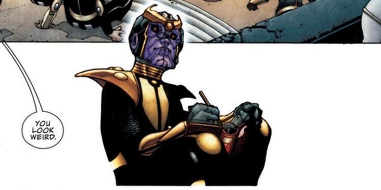 Một tuổi thơ bị ruồng bỏ đã khiến Thanos trở nên tàn độc và hung tợn.