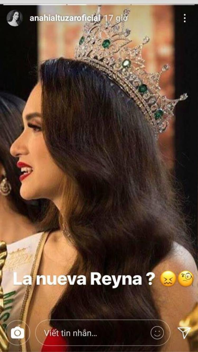 Hoa hậu Chuyển giới Mexico bị nghi ngờ tỏ ra khó chịu khi Hương Giang đăng quang.