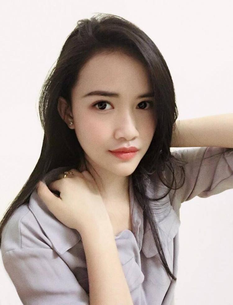 Dù chỉ có duy nhất một tấm ảnh, nhưng vẻ đẹp sắc nét của thí sinh Lê Bảo Chi đã khiến nhiều người chắc mẩm, cô nàng này sẽ tiến sâu vào chung kết