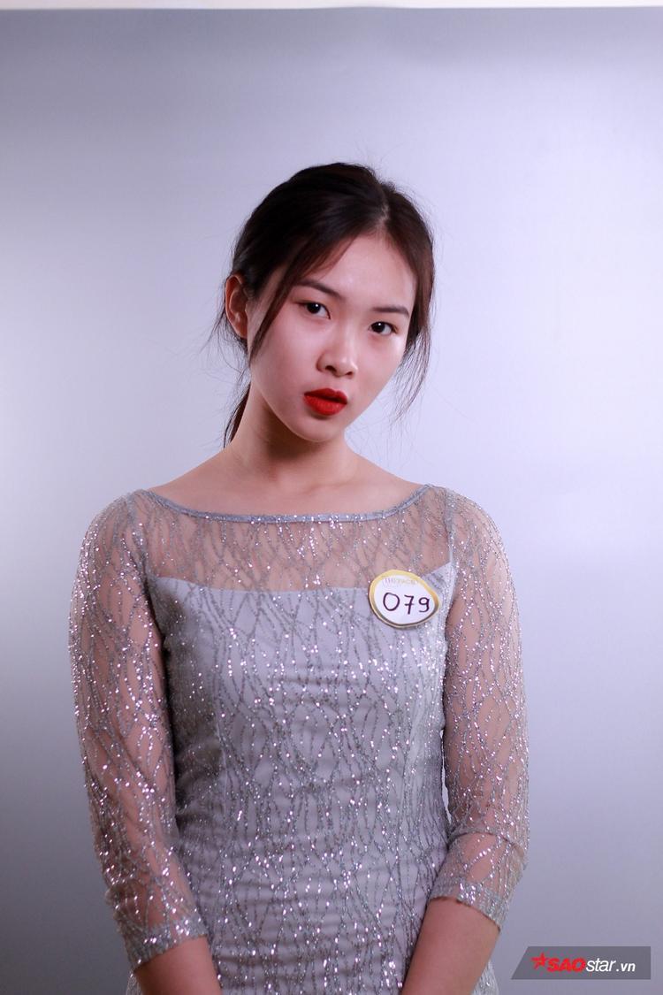 Hoàng Thị Thùy Dung - Thí sinh xinh đẹp đến từ ĐH Luật Hà Nội.