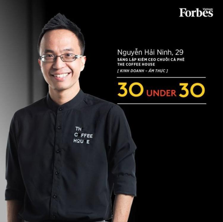 Nguyễn Hải Ninh, đồng sáng lập chuỗi Urban Station, hiện là sáng lập kiêm quản lý chuỗi The Coffee House