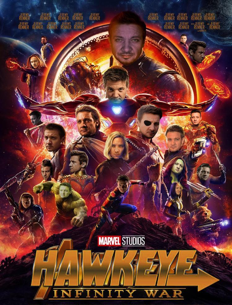 Không có Hawkeye ư? Giờ thì có đến hàng chục Hawkeye nhé. Nguồn ảnh:r/marvelstudios.
