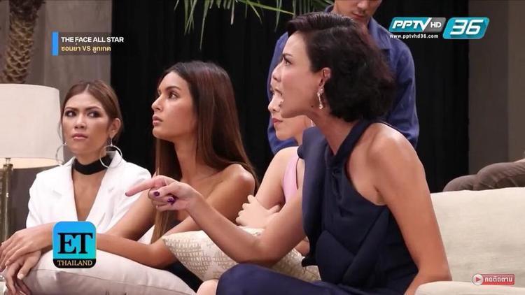 """Thế nhưng """"drama"""" vẫn xảy ra giữa hai """"chị Đại"""" của làng mẫu Thái Lan là Sonia…"""
