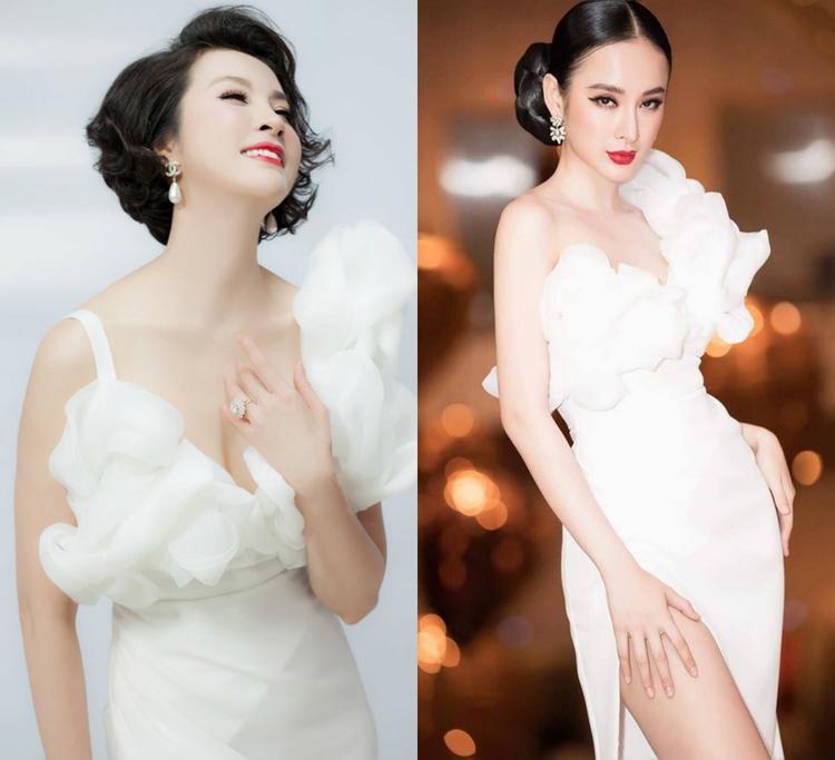 """Dù hơn """"nữ hoàng thị phi"""" những 22 tuổi nhưng Thanh Mai vẫn đẹp bất chấp so với đàn em chỉ đáng tuổi con. Vẻ gợi cảm của Thanh Mai khiến các phụ nữ khác phải ghen tỵ, nể phục."""