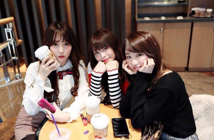 3 gương mặt quen thuộc của fan Kpop những ngày gần đây: Yua Mikami, Miko, Sakura.