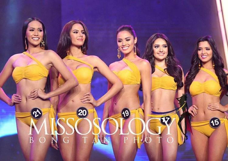 Trong đêm chung kết ban giám khảo chọn ra top 25 sau đó chọn ra top 15 vào vòng thi ứng xử.