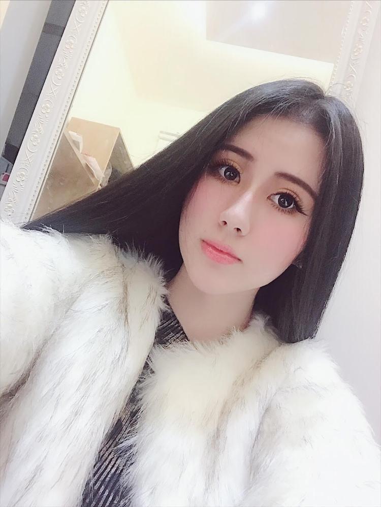 Nguyễn Băng Tâm sở hữu đôi mắt to tròn cùng vẻ đẹp quyến rũ.
