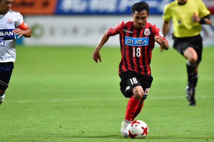 Chanathip Songkrasin đang thể hiện phong độ khá tốt ở J.League.
