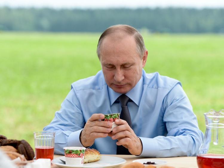 Trong những chuyến công du, lịch trình của Tổng thống Nga kín hơn rất nhiều. Bất cứ nơi nào ông đặt chân và những thứ khác từ ga trải giường cho tới hoa quả đều được thay thế. Ông sẽ không bao giờ động vào đồ ăn của nước chủ nhà nếu chưa được các nhân viên Điện Kremlin kiểm tra.