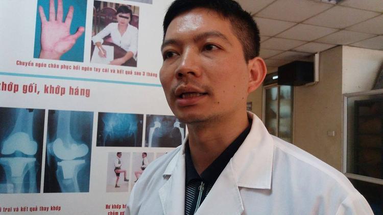 Bác sĩ Nguyễn Thanh Tùng.