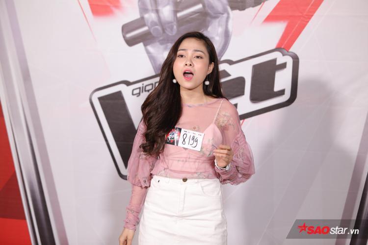 Lưu Hiền Trinh - trưởng nhóm S-girls cũng có mặt ở cuộc thi năm nay. Nhan sắc nổi bật và giọng ca kỹ thuật giúp cô dễ dàng vượt qua thử thách từ các giám khảo.