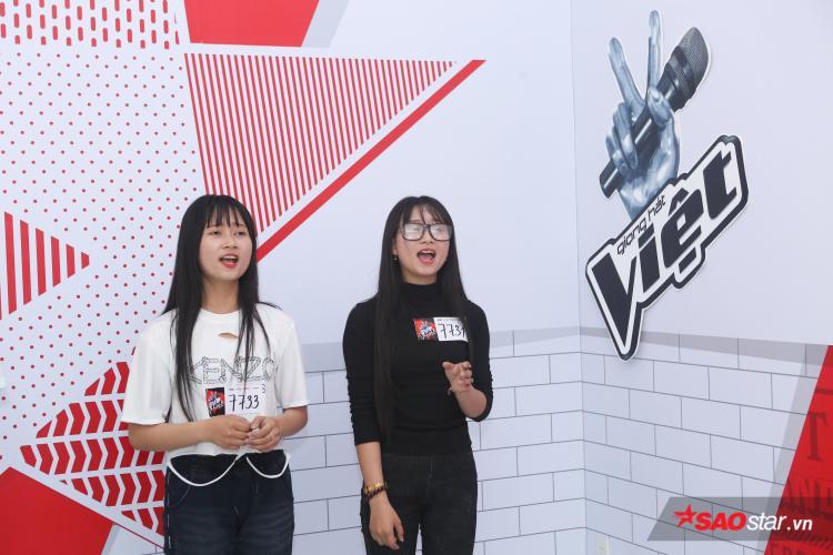 Những gương mặt xinh xắn lộ diện ở vòng tuyển sinh The Voice đợt 2