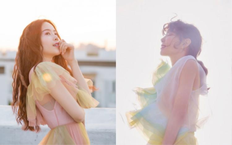 """Nam Em bị cho là """"bản sao bị hư"""" của Taeyeon (SNSD) với hình ảnh mới."""
