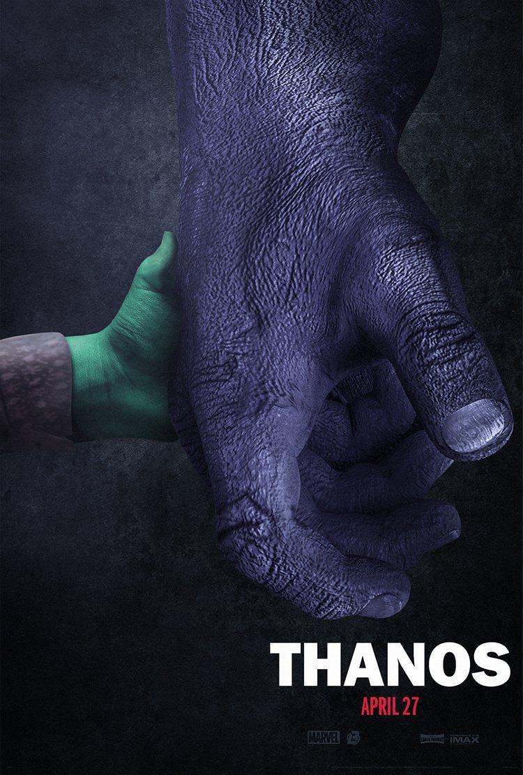 Đạo diễn Avengers: Infinity War thích thú trước poster Thanos  Gamora dựa theo Logan